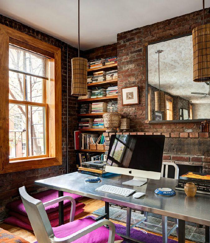 """Foto """"pinnnata"""" dai nostri lettori Emanuela e Fabio di CAFElab Un loft colorato a NY"""