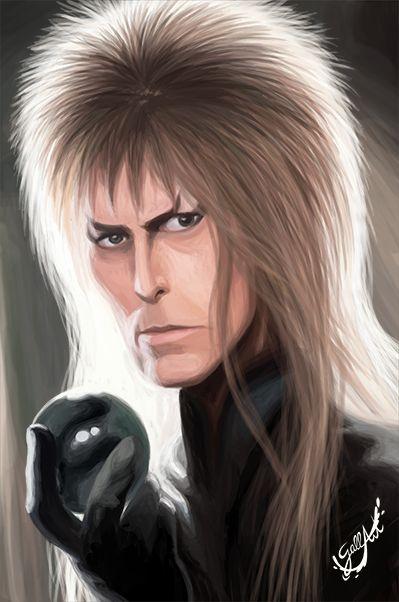 My tribute to David Bowie. Rest In Peace Gobling King. — Mi homenaje a David Bowie. Descansa en paz Rey Goblin.