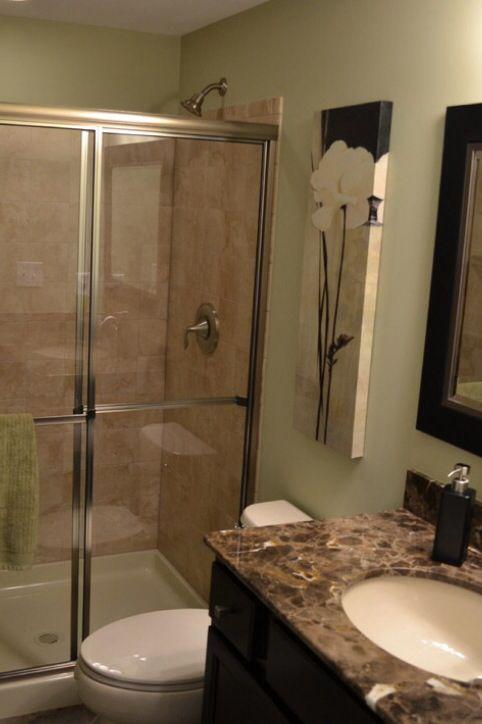 Best Basement Bathroom Images On Pinterest Basement Ideas