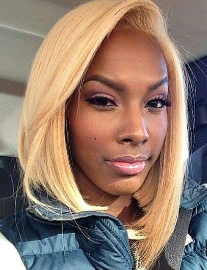 Sensational 1000 Images About Black Girls Blonde Hair On Pinterest Hairstyles For Women Draintrainus
