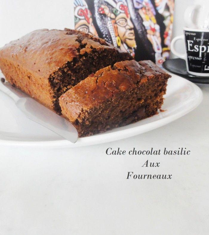 cake au chocolat & basilic #recette #cake #chocolat #facile