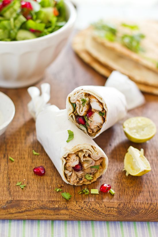 Arabic Shawarma -- saw these in Foodiecrush mag the other day and wanted to try them! Glad to find an easy link to the blogger!