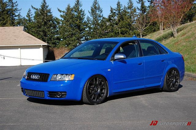 "'04 Audi S4 with 19"" BBS CH's / via https://www.flickr.com/photos/46774680@N08/"