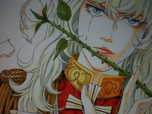 Rose of Versailles fanart by Usamaru Furuya