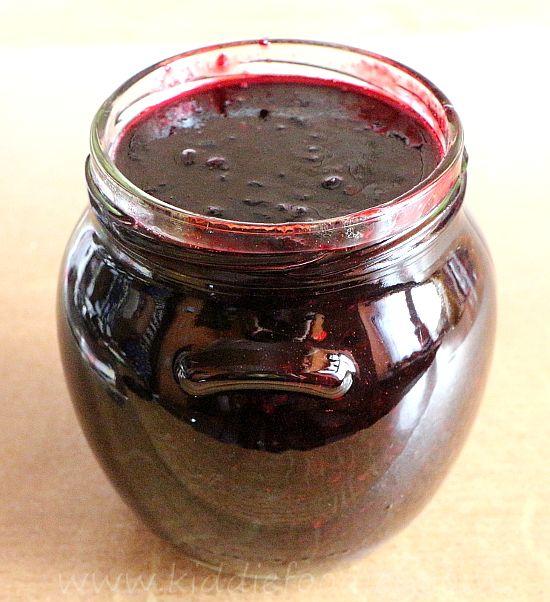 Homemade Blackcurrant Jam recipe step4a
