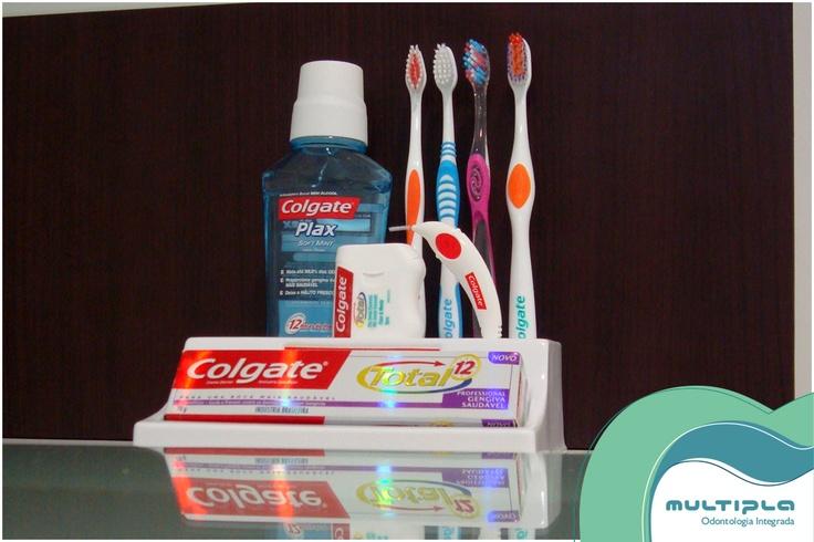 Conjunto de higiene bucal.