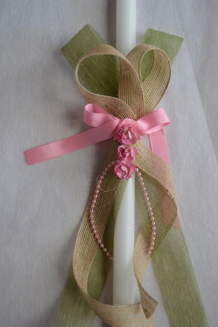 greek easter candle designs - Google Search