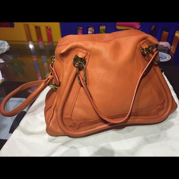 Chloe paraty Medium Authentic chole bag, excellent quality. I used twice only. Chloe Bags
