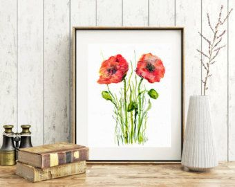 Image result for large poppy print fabric canada