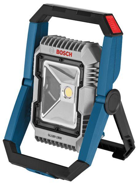 Bosch GLI18V-1900, Bosch 18V LED Flood Light, Bosch 18V Bluetooth LED Flood Light