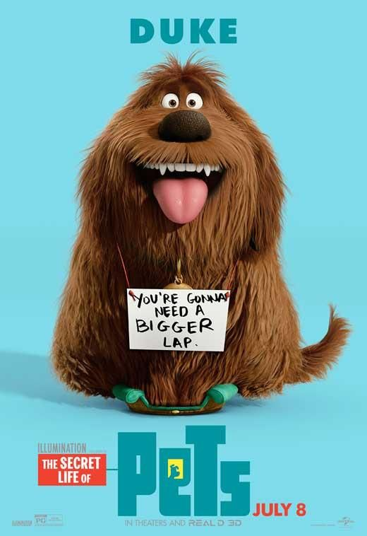 The Secret Life Of Pets 2016 27x40 Movie Poster Pets Movie Secret Life Of Pets Secret Life