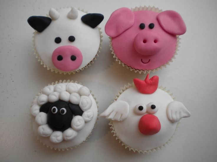 Cupcake Party met als thema: Boerderijdieren bij Zoet! in Burgum