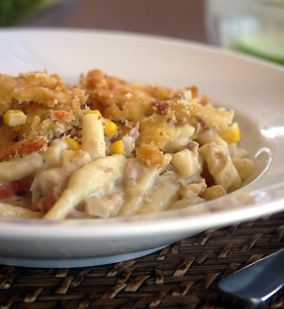 Tuna Mornay - Julie Goodwin recipe - love this one because it is really tasty but so quick to cook. I also add broccoli, parsley and whatever other vegies are in the fridge!