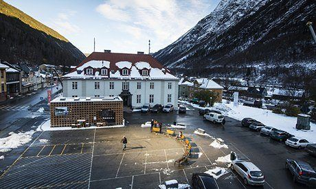 Last week for the first time ever, the winter sun shone on the Norwegian town of Rjukan. Jon Henley meets the inhabitants whose lives have been transformed – and the man who brought them sunshine.