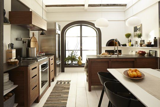 Style Profile: The Modern Cottage Kitchen — DXV by American Standard  Perpendicular counters!
