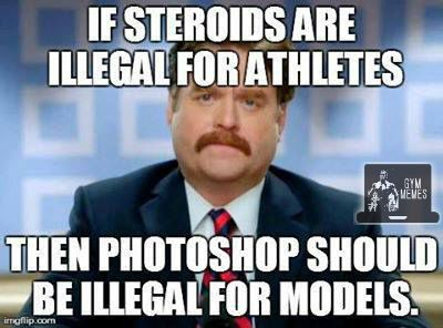 Zach galifianakis gym meme