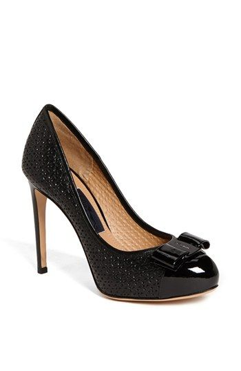 Salvatore Ferragamo 'Rilly' Platform Pump available at #NordstromSalvatore Ferragamo, Pump 750 00, Shoes Lici, Inch Platform, Platform Pumps, Nice Shoes, Platform Shoes, Ferragamo Rilli, Evening Shoes