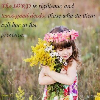 Scripture from the Bible portrayed with inspired pictures