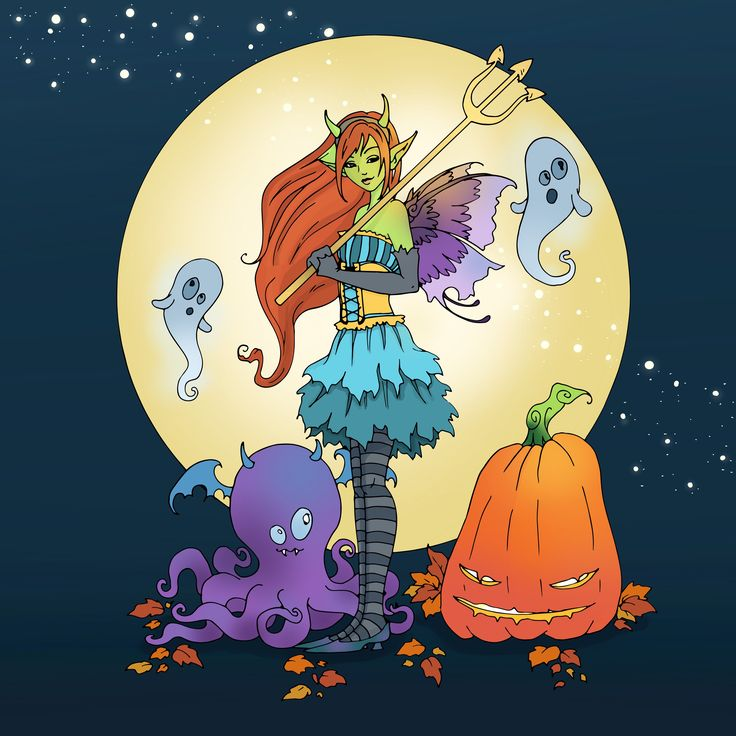 Our Free Coloring Challenge Is From Amy Browns New Book Halloween Fairies Have You Tried The Pigment App Yet Its Best Adult
