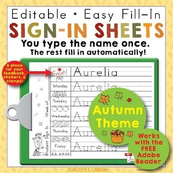 Best 25+ Sign in sheet ideas on Pinterest Sign in to, Preschool - monthly sign in sheet template