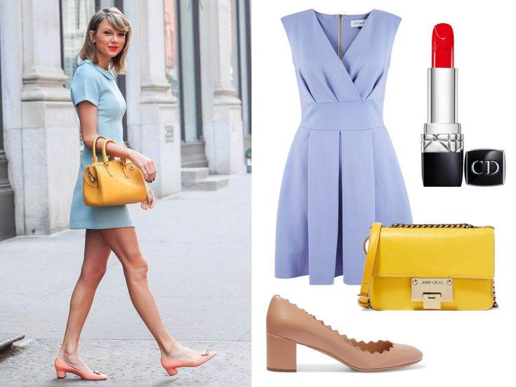 стиль Тейлор Свифт - маленькое платье
