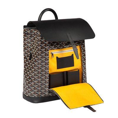 Goyard Black Alpin Backpack Bag 2