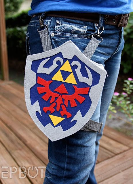 DIY Legend of Zelda Holster Bag