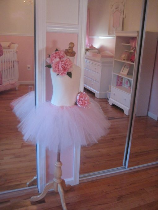 Ballerina Baby, A pink balleria and princess themed baby girls nursery. , Made this myself. , Nurseries Design