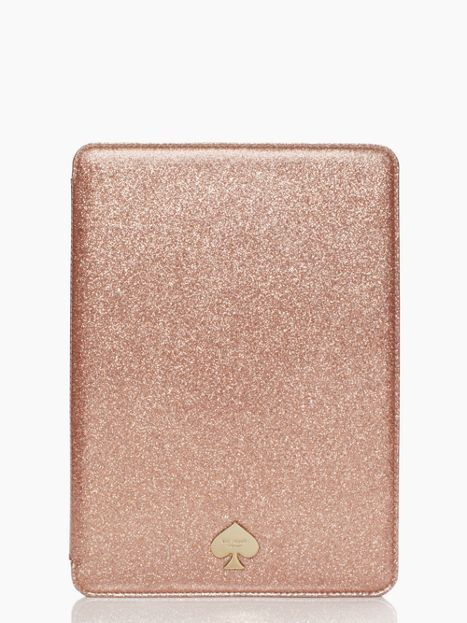 fashionable geek ipad air hardcase glitter bug by Kate Spade.