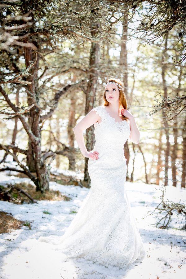 Winter wedding ice bergs Cape Cod 13