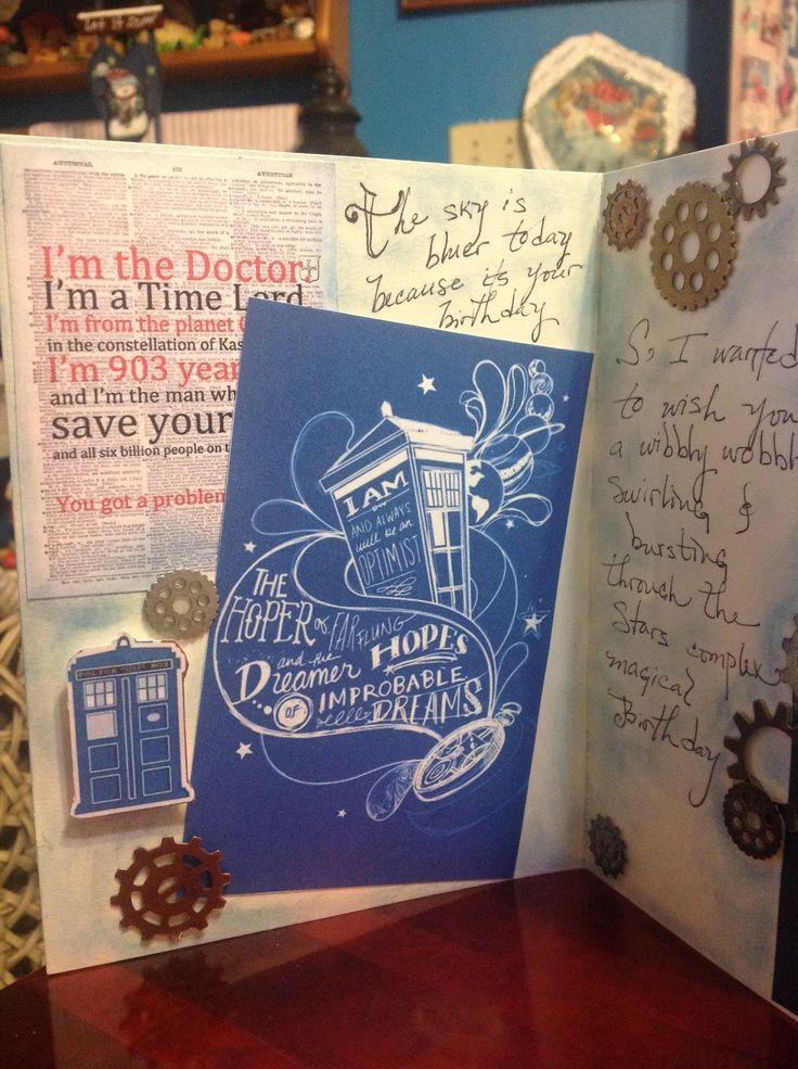 Best 25 Dr who birthday card ideas – Dr Who Birthday Card