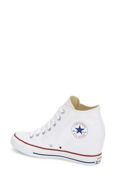 "Women's Converse Chuck Taylor 'Lux Corel' High Top Sneaker, 2 1/2"" heel"