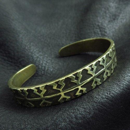 Bronze Viking bracelet from Gotland by Sulik on Etsy