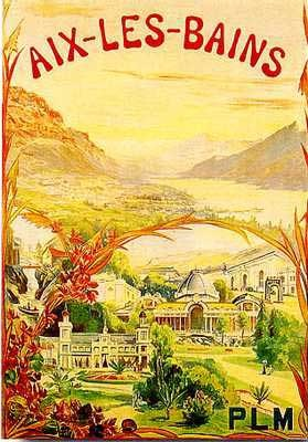 #aixlesbains #lacbourget #lacdubourget #savoie #alpes #belleepoque #vintage #affiche #collection #station #stationthermale #thermalisme