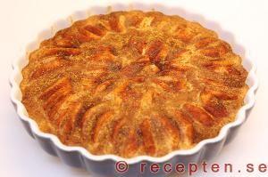 Recept på Äppelkladdkaka
