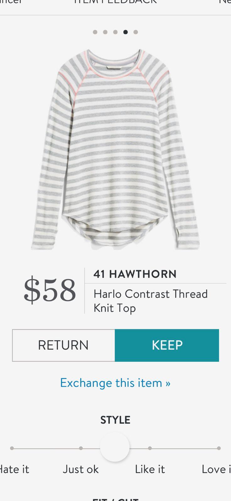 41 Hawthorn stitch fix stripe long sleeve shirt