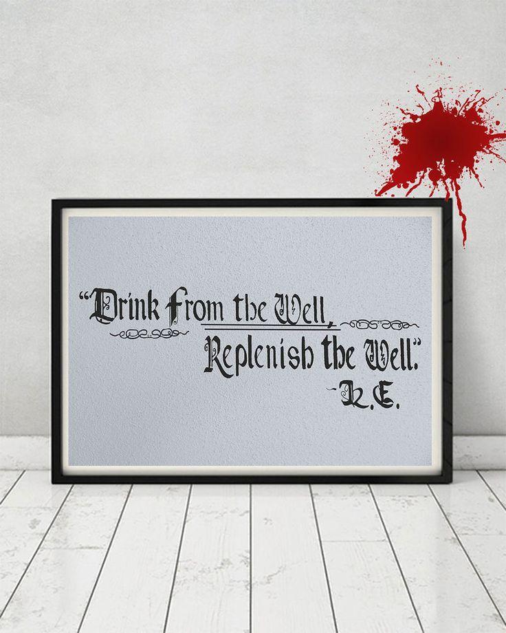 The Walking Dead King Ezekiel Replica Prop Drink from the Well Gift Carol Negan #TheWalkingDead #TWD
