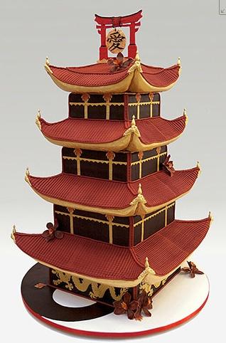 Ron Ben-Israel cake. Chinese style.