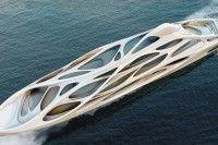 Zaha Hadid yacht