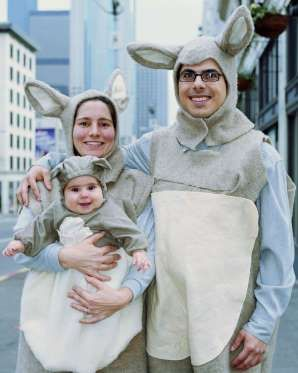There's nothing cuter than a baby in a costume, besides perhaps a baby in a matching kangaroo costum... - Provided by Good Housekeeping