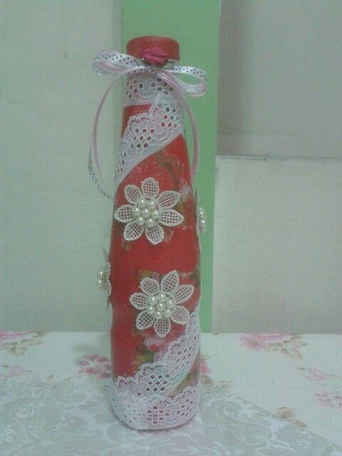 Batik bottle