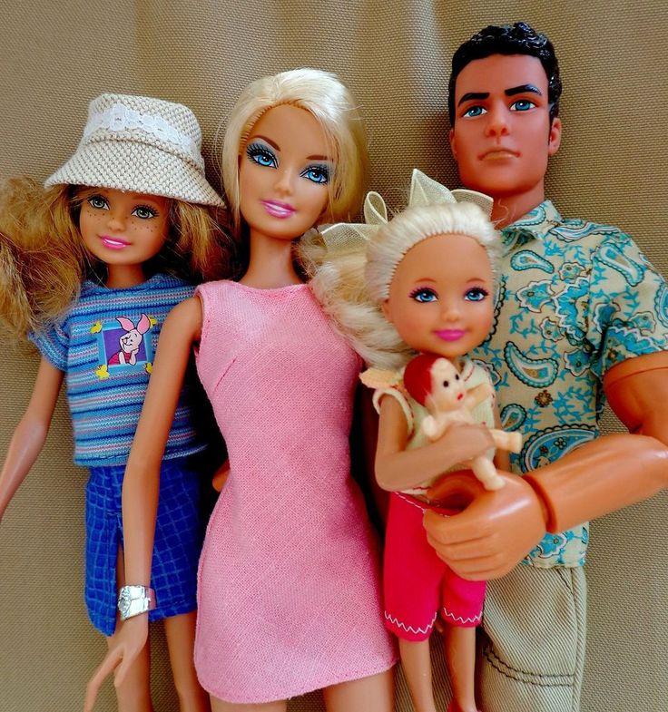 Барби и семья картинки