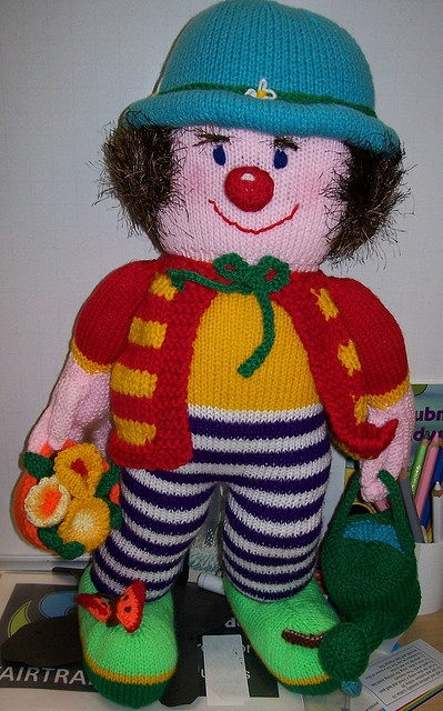 Knitting Patterns Toys Jean Greenhowe : Charity knitted toy pattern by jean greenhowe muñecas