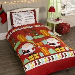 Pościel #Świąteczna - List do #Mikołaja. Na tak pięknie zaadresowanej poduszce będzie się dobrze spało.