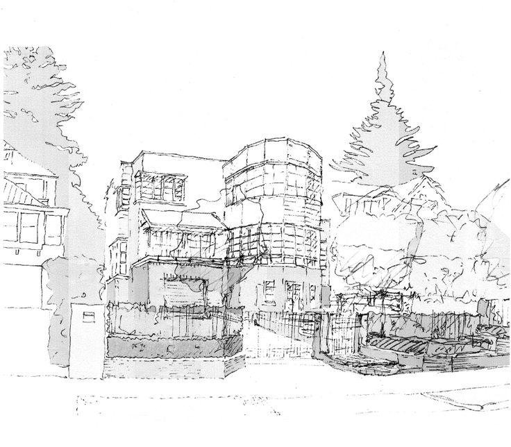 Canterbury Place Sketch