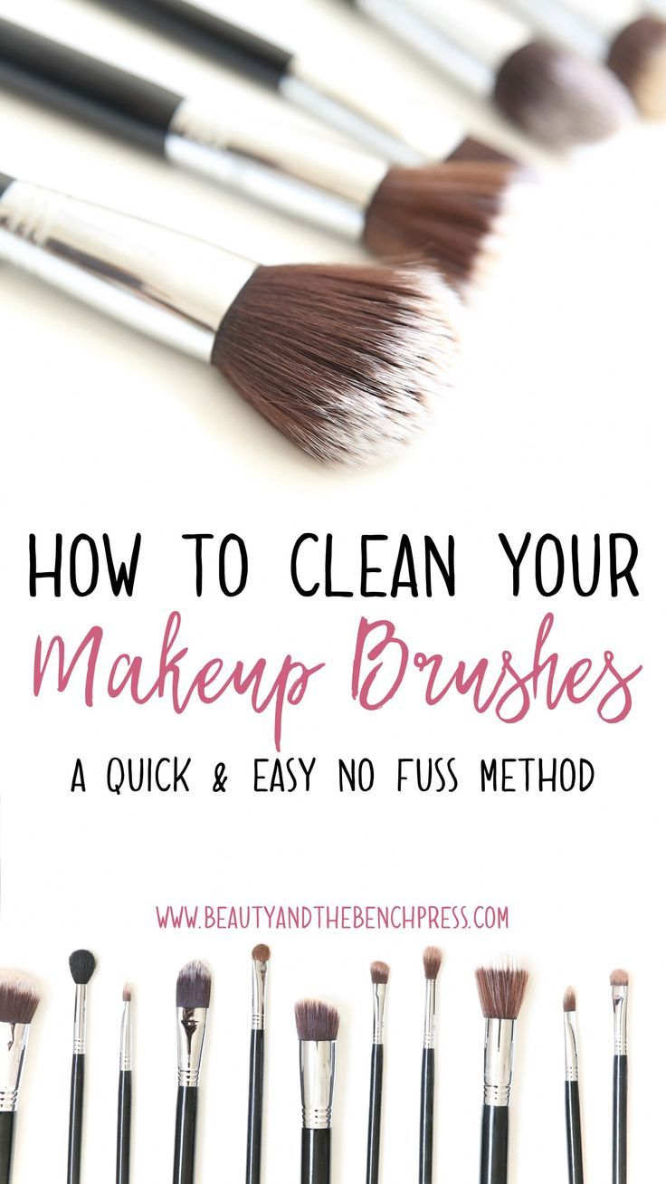 How I Clean My Makeup Brushes Quickly And Easily Makeupbrushes How To Clean Makeup Brushes Makeup Brush Dupes Makeup Brushes