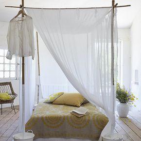 17 best ideas about lit bambou on pinterest lit de patio d cor de style de - Lit baldaquin en bambou ...