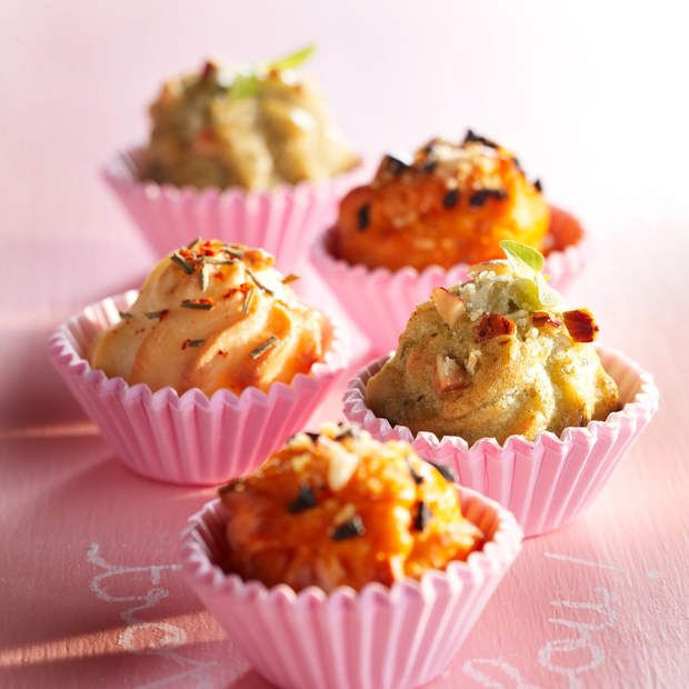 Chouquettes saléesUne recette originale et gourmande !La recette des chouquettes…