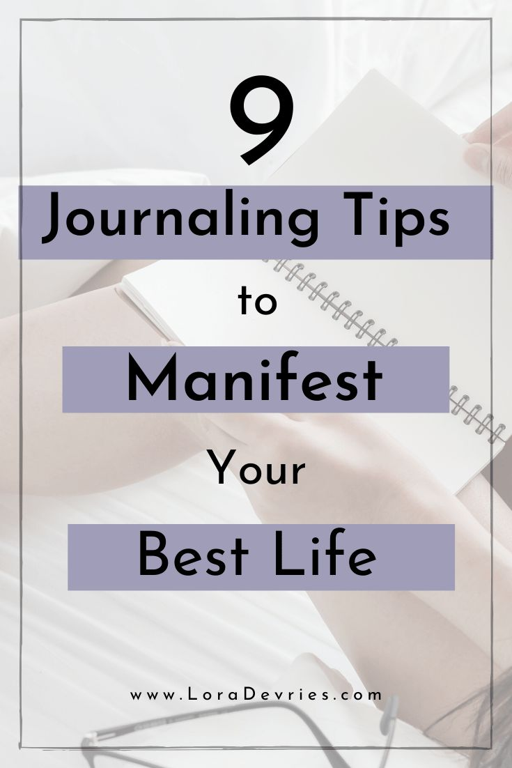 How to make a manifesting journal in 2020 manifestation