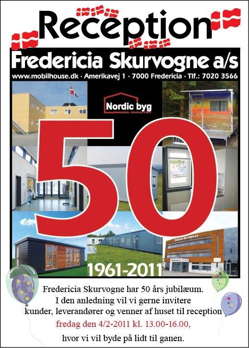 Fra vores 50 års jubilæum 1. februar 2011